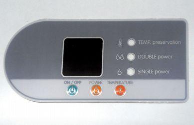 Wesen Pegatina adhesivo inox flat 30-200litros