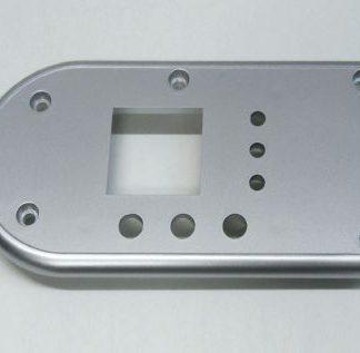 Wesen soporte botonera display inox flat-silver 30-200litros