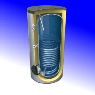 Termo interacumulador 200 litros, 1 serpentin, Lemet
