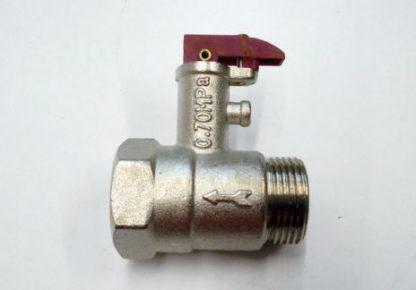 Wesen valvula de seguridad 1/2¨ inox flat-silver 150-200 litros
