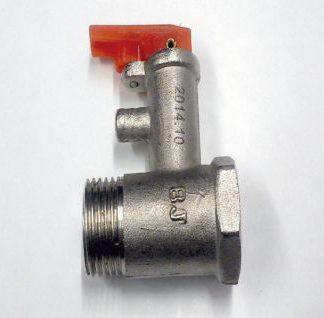 Wesen valvula de seguridad 1/2¨ inox flat-silver 30-100 litros